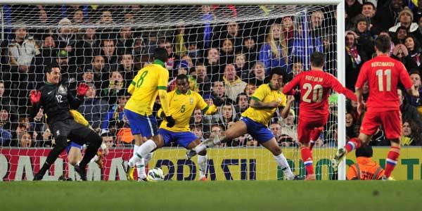 Gol Fred Selamatkan Brasil dari Kekalahan