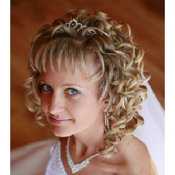 Wedding Hair Style For Long Curly Hair