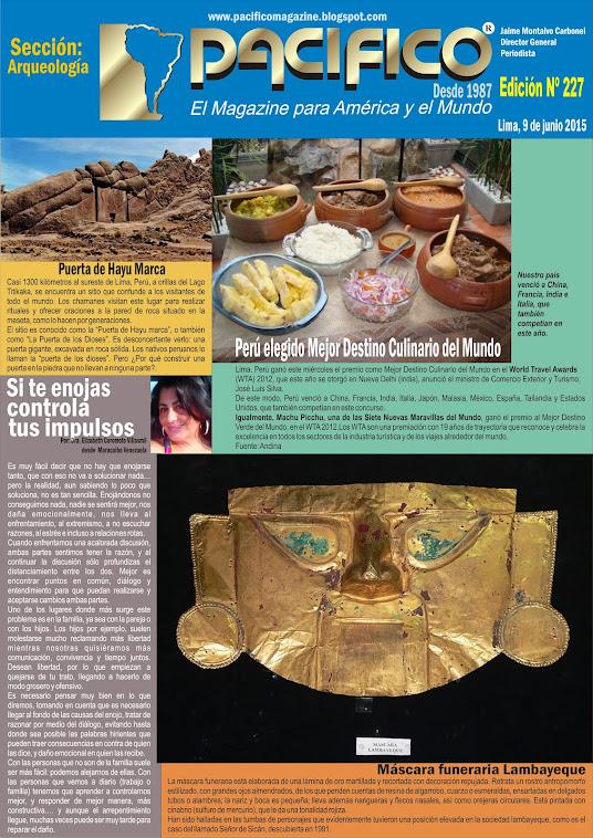 Revista Pacífico Nº 227 Arqueología