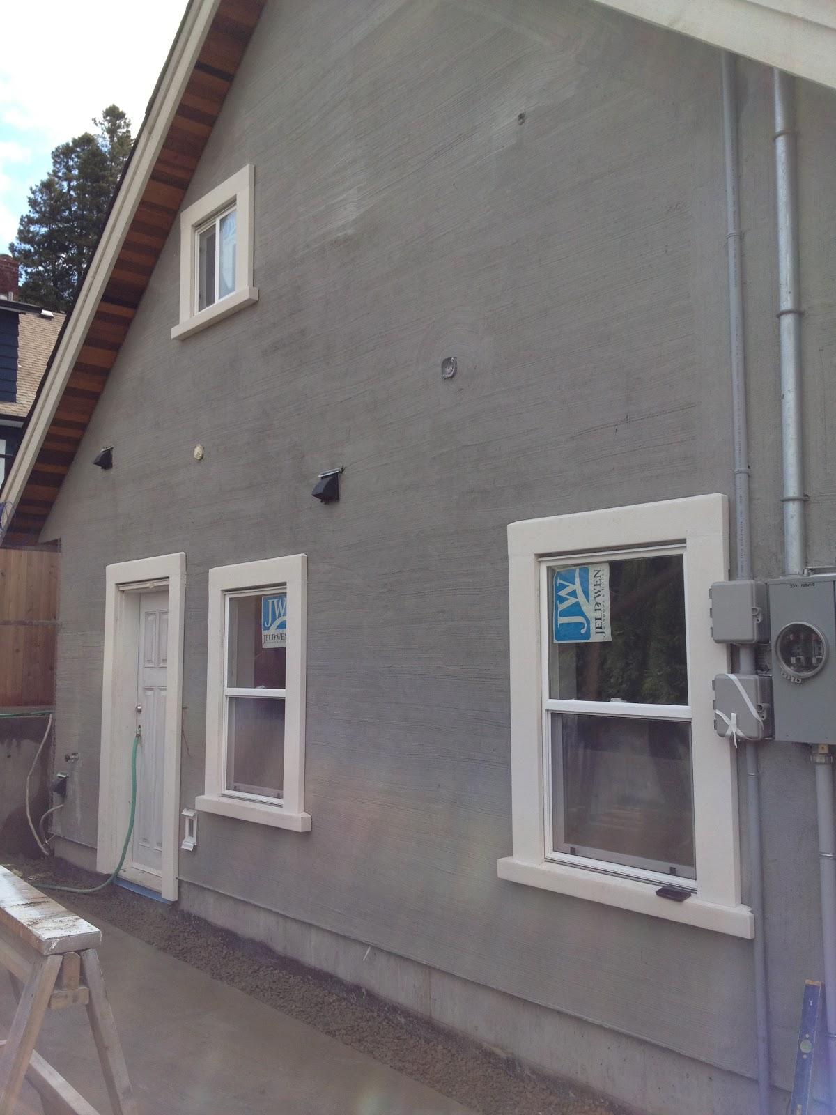 Exterior Window Trim Stucco Bypress