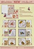 3D Card Embroidery Stitching Sheets