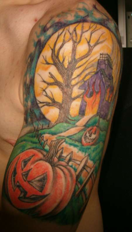halloween tattoos today