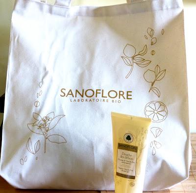 Sanoflore Jedwabisty żel pod prysznic - pierwsze wrażenia