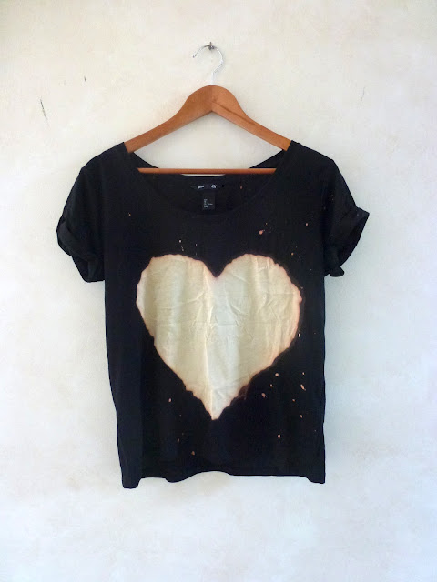 Asos Bleach Heart Tee
