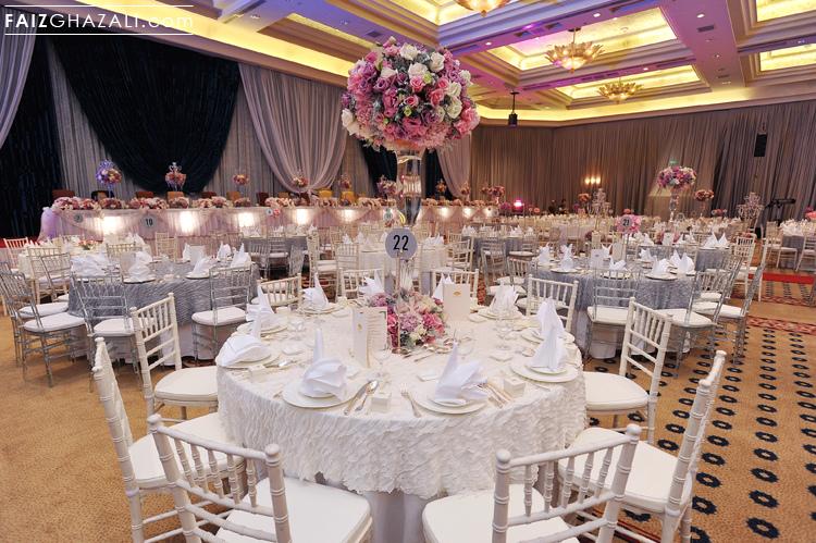 Mandarin oriental kl white wedding junglespirit Images