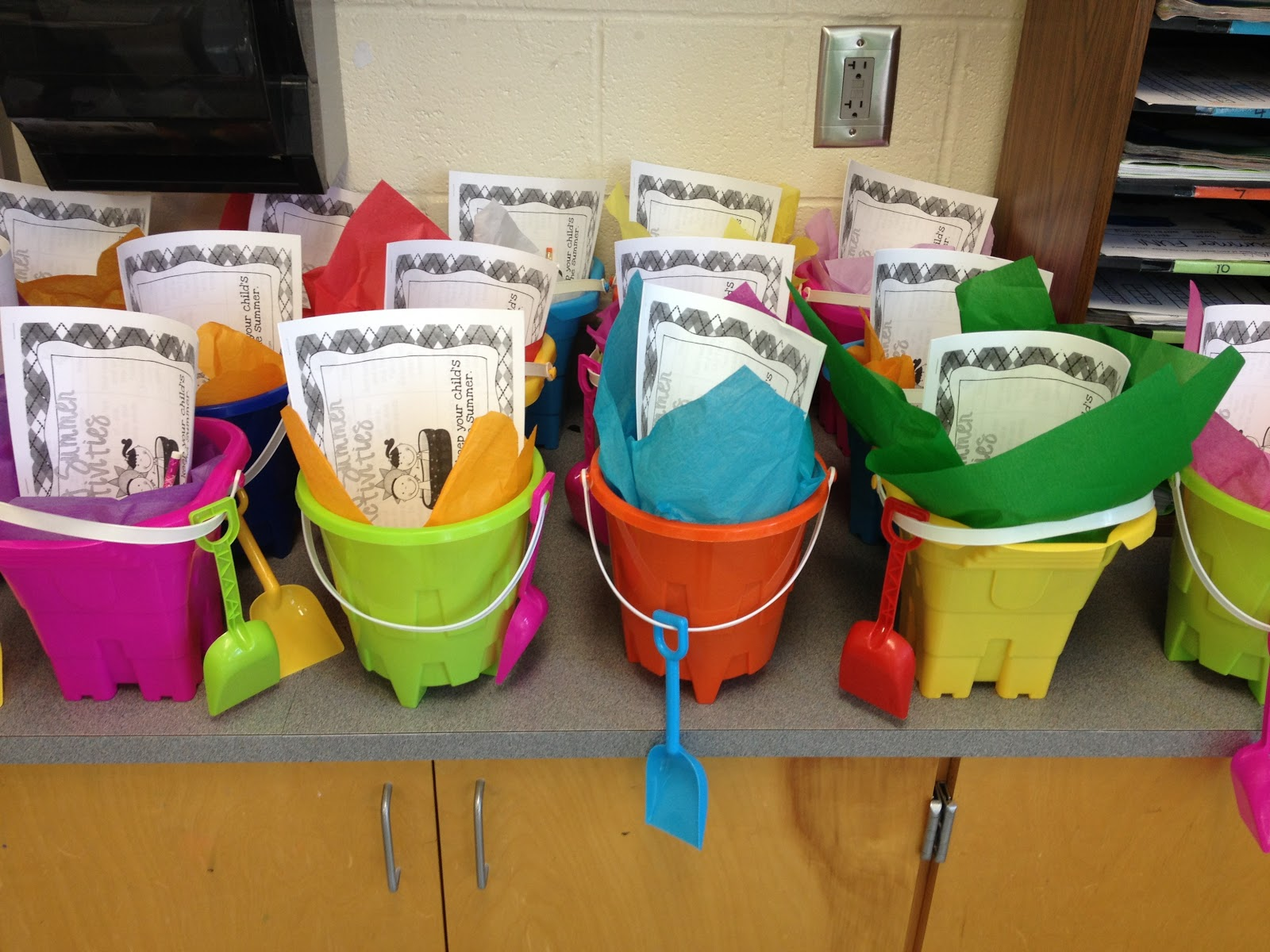 Cute school bags for college students - Cute Buckets Amp Shovels For My Students In The Target Dollar Bins