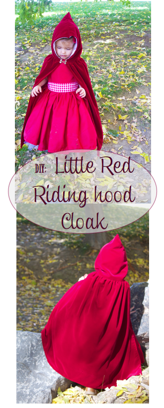 Do it yourself divas diy little red riding hood costumecloak 2t 4t first meet clara aka red she is my very sassy two year old i totally had to bribe her with sweets to get her to dress up and smile solutioingenieria Image collections
