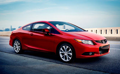honda civic si coupe 2012 rallye red color