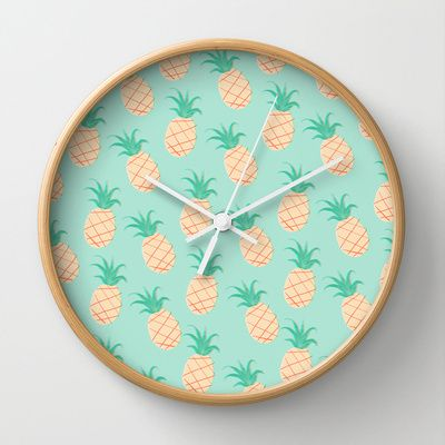 tendencia-decoracao-ananas-relogio-parede