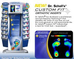 Dr Scholls Foot Mapping on