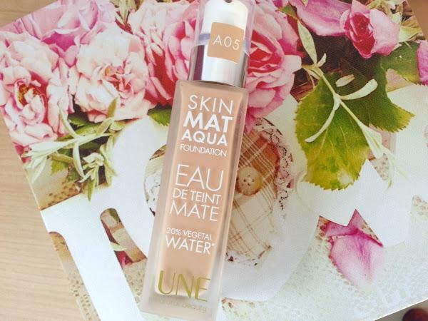 Test : le Skin Mat Aqua, l'eau de teint Une Beauty