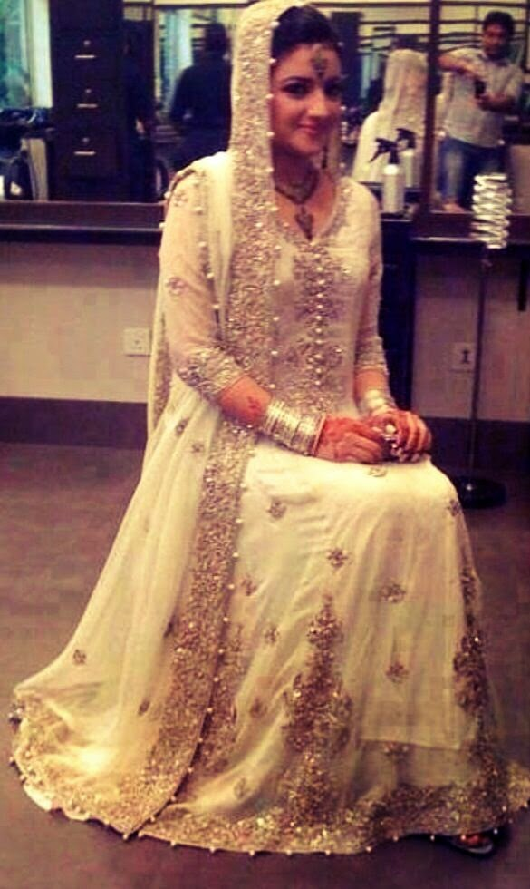 Embroidered Fancy Asian Bridal Wedding Walima Dresses 2015 2016