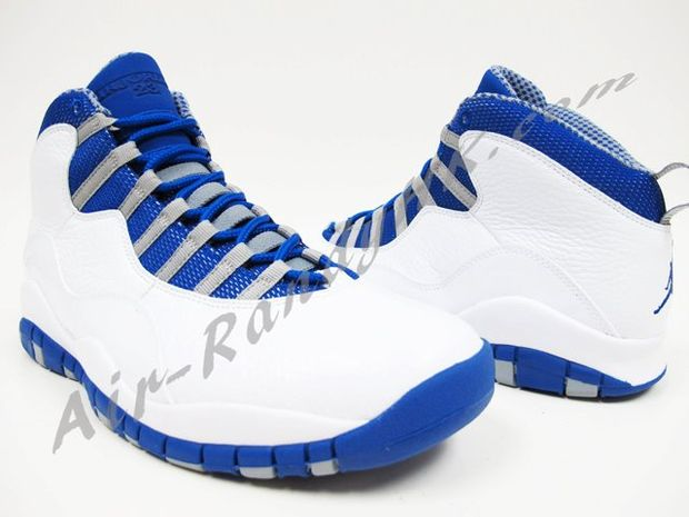 """2a966fd1c82239 The Air Jordan 10 is another retro claiming it s territory in 2012 with the  """"Chicago"""" 10"""