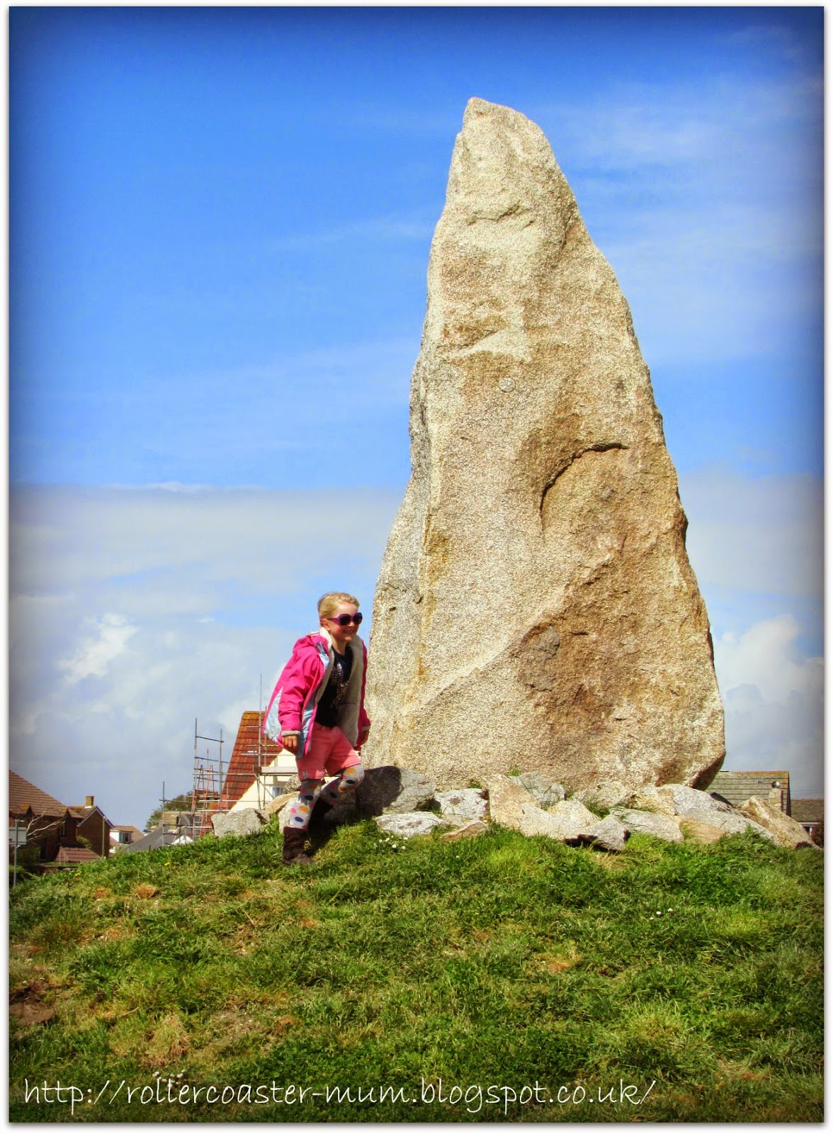 curious monolith, Hayling Island