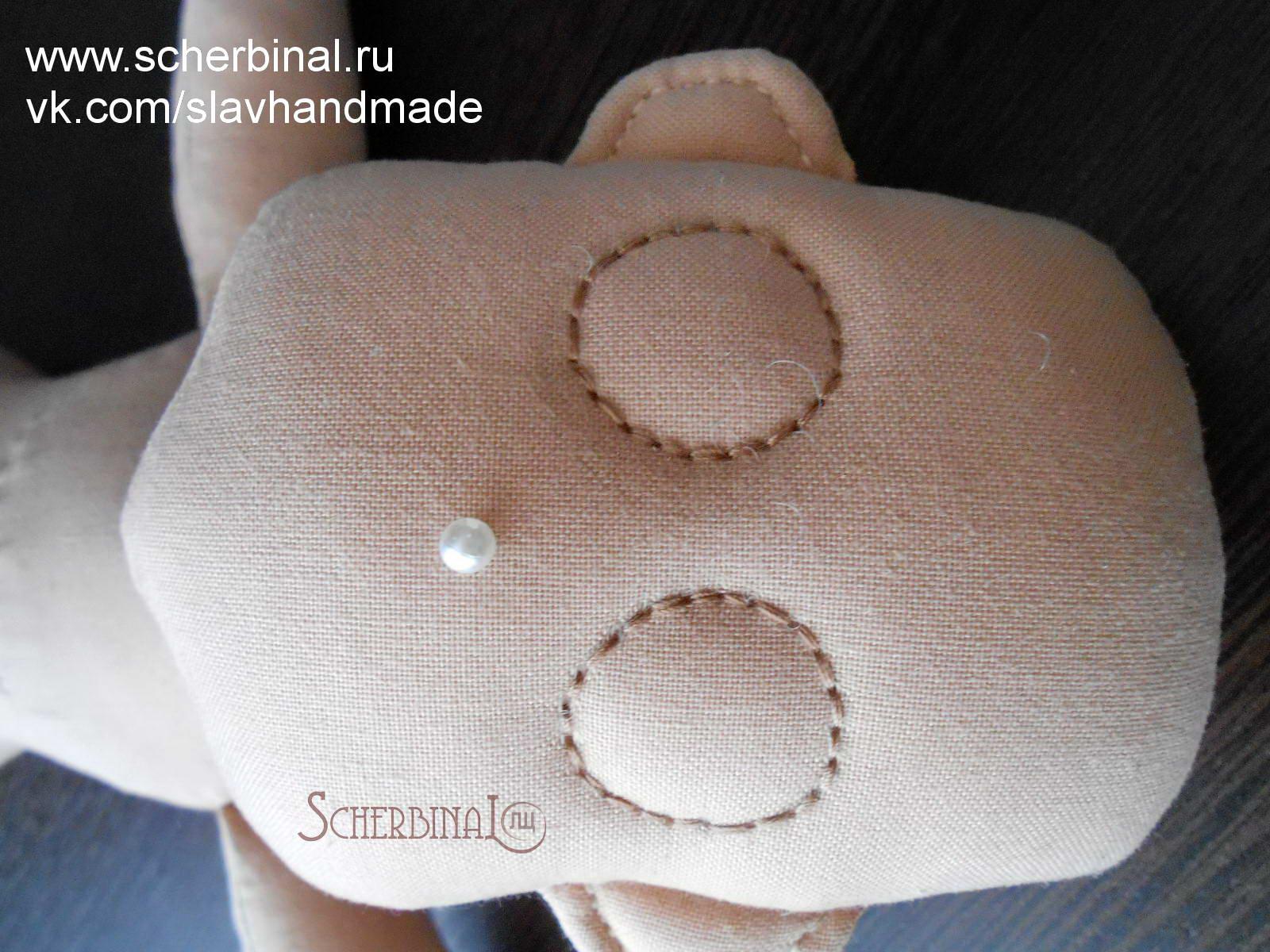Совместный пошив игровой текстильной куклы-карамельки с Людмилой Щербина, утяжка лица куклы, мастер-класс