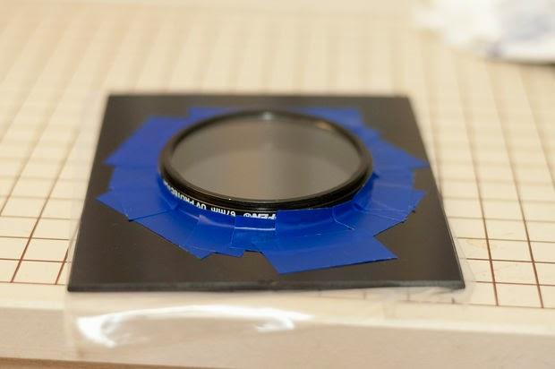 Kaynak Camından ND Filtre Yapımı