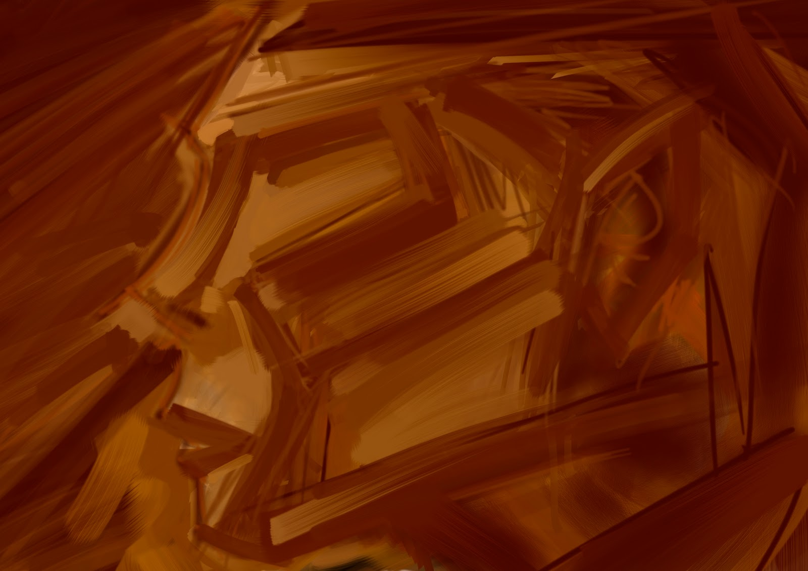 Croquis  / speed painting Brown+profil_00112