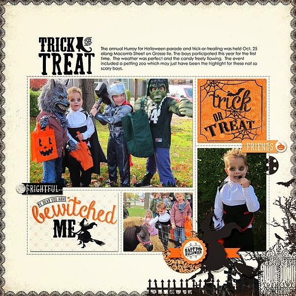 Layout by Bea Kit-Fright by sweet caroline studio