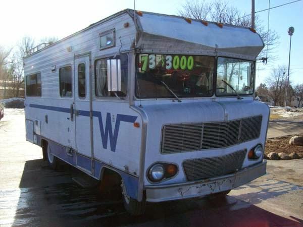 Original Salvage WINNEBAGO CHIEFTAN 1975  BRIGHTONCO80603USA  Cheap Used Cars For