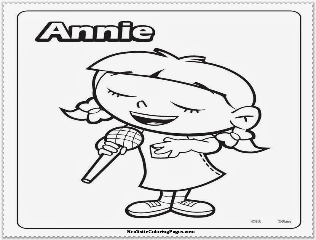 Little Einsteins Annie Coloring Pages Little Einsteins Coloring