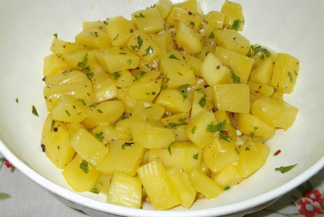zucca (a polpa gialla) marinata