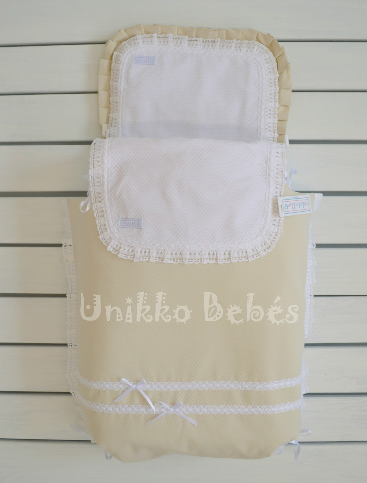 funda capazo con colcha lencera Bugaboo