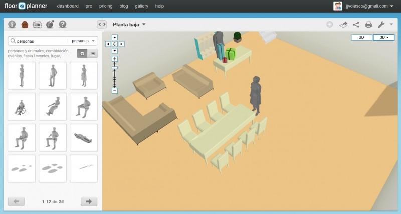 Tech Mas Art Floorplanner Dise Ando Interiores Con Google Chrome