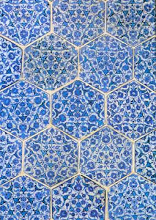 Panel of Hexagonal Tiles.