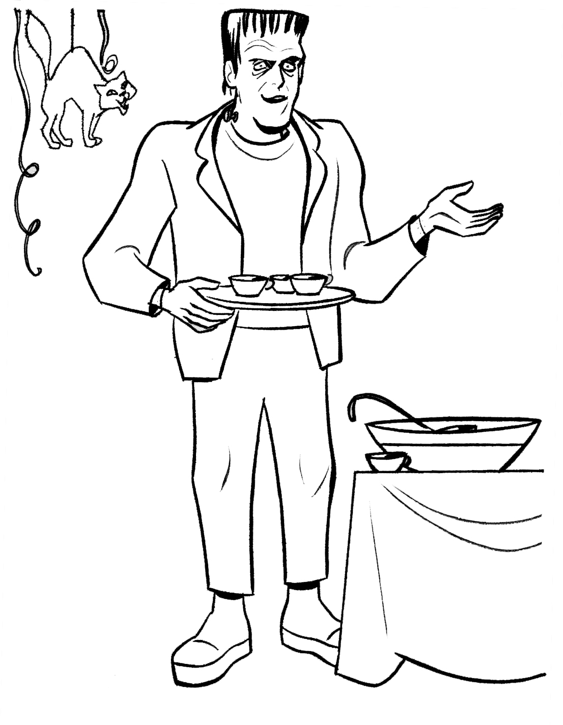 o ween coloring pages - photo #44