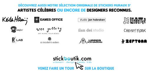 Stickers muraux géants Stickboutik.com