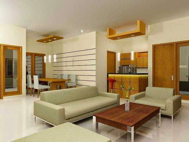 interior ruang keluarga minimalis modern