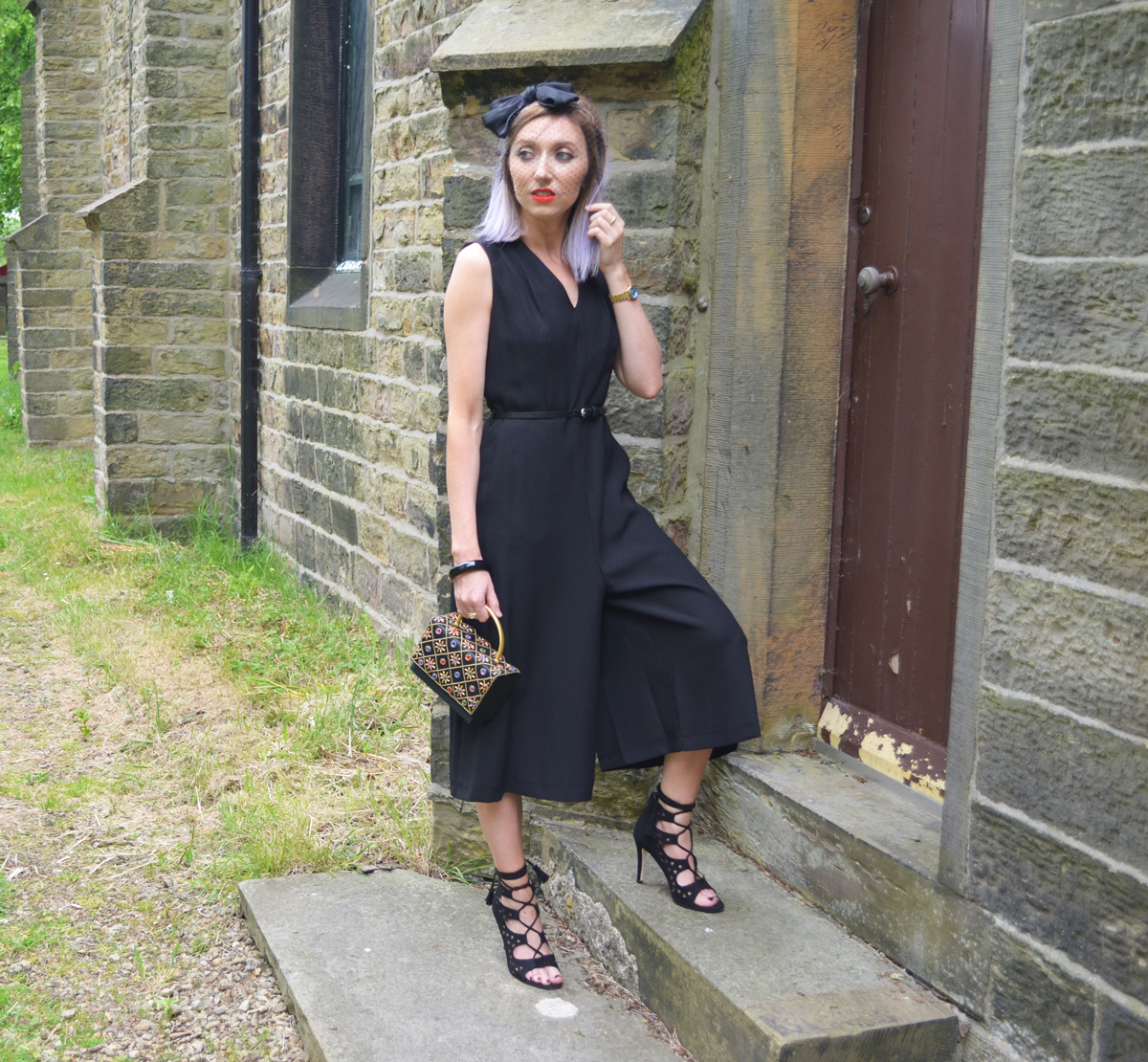 Ootd Wearing Black To A Wedding Rock On Holly