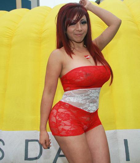 Lima Vedette Irina Grandez