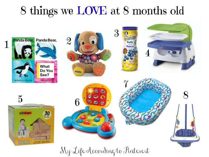 Toys For 8 Months : My life according to pinterest things we love at