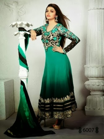 Anarkali Long Frock Embroidered Dresses