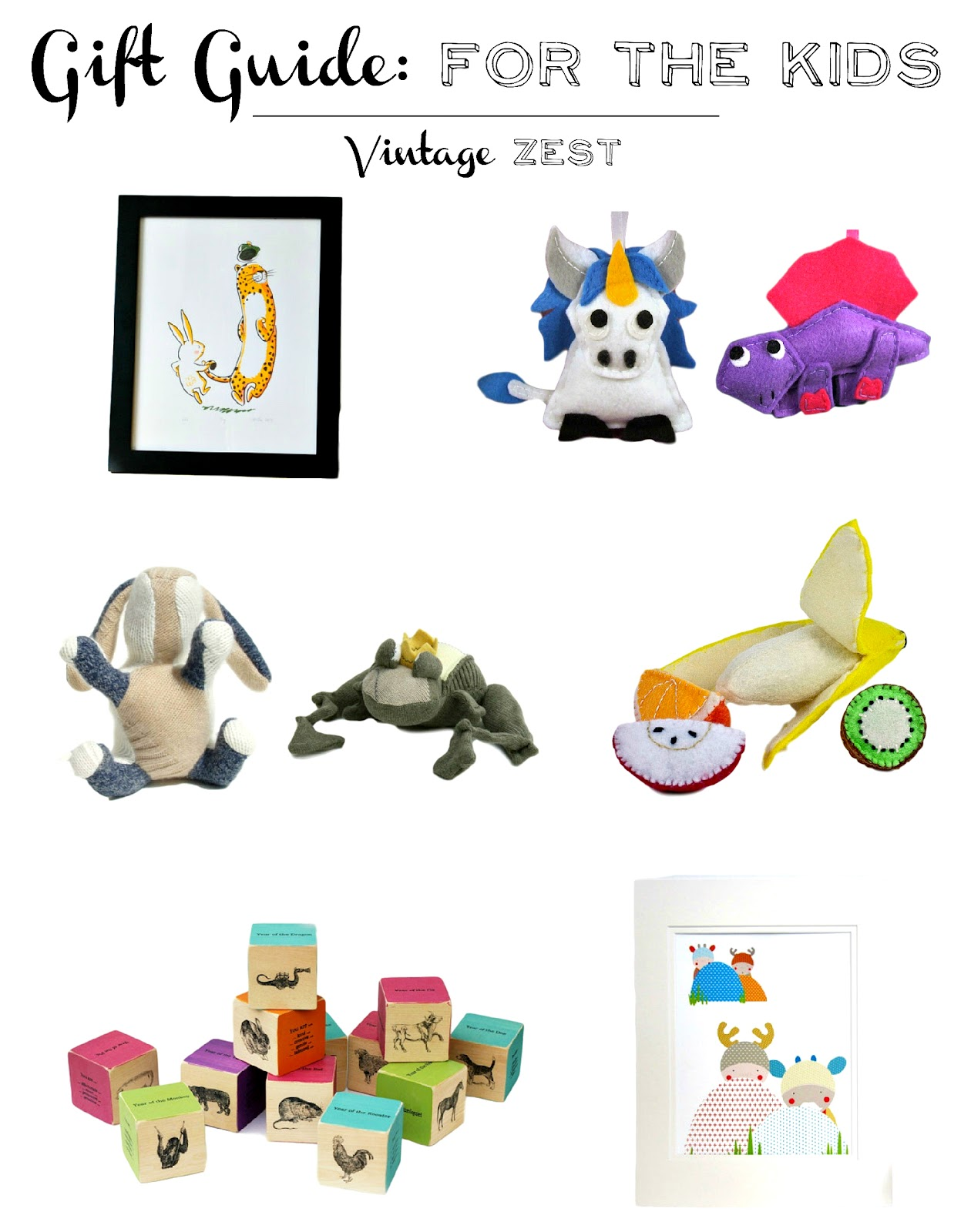 Gift Guide for the Kids on Diane's Vintage Zest!  #shopsmall