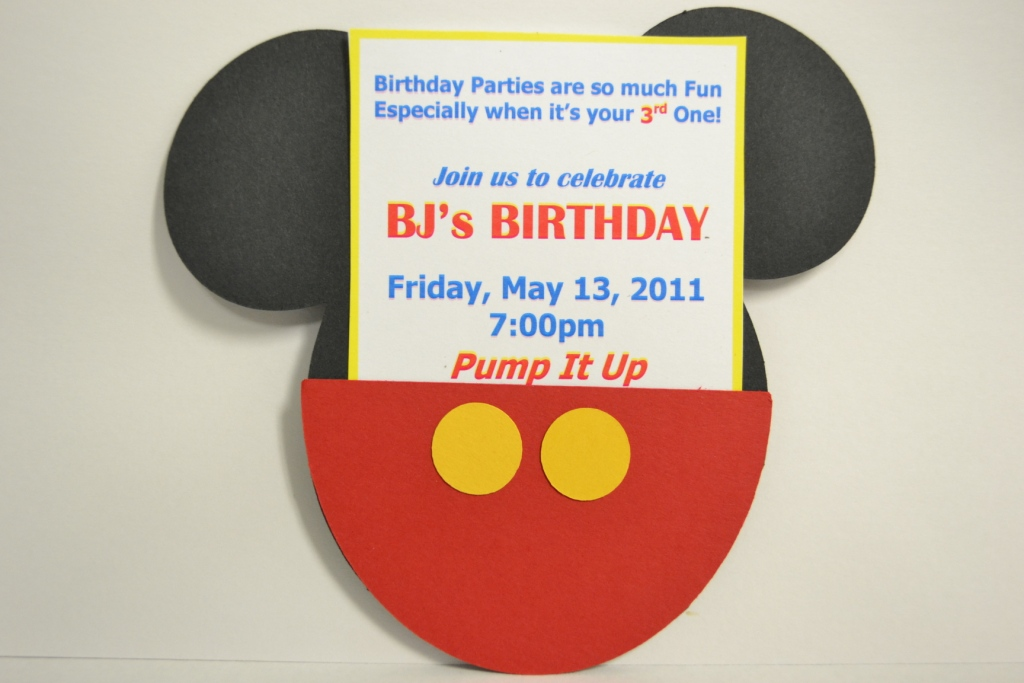 creative delights by nicole mickey mouse birthday invitations