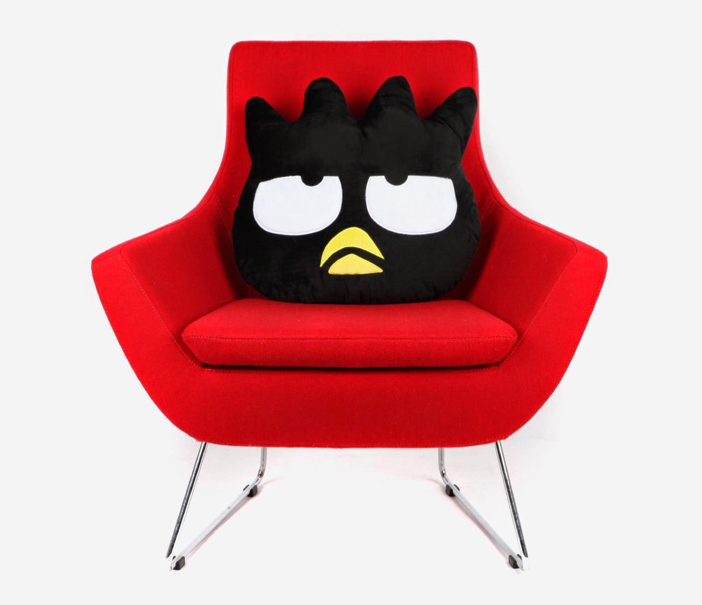 Sanrio character cushions badtz maru
