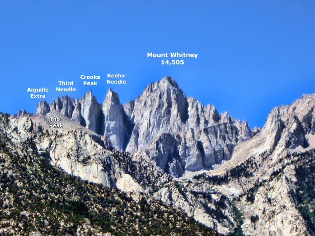 how tall is mt whitney