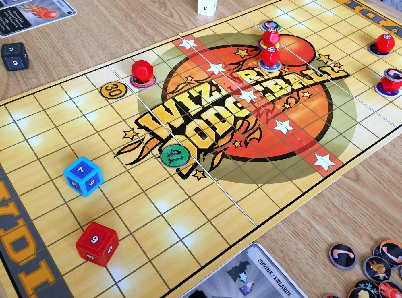 Wizard Dodgeball board game review
