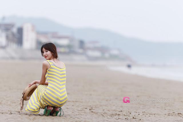 4 Lovely Shin Sun Ah Outdoor  - very cute asian girl - girlcute4u.blogspot.com