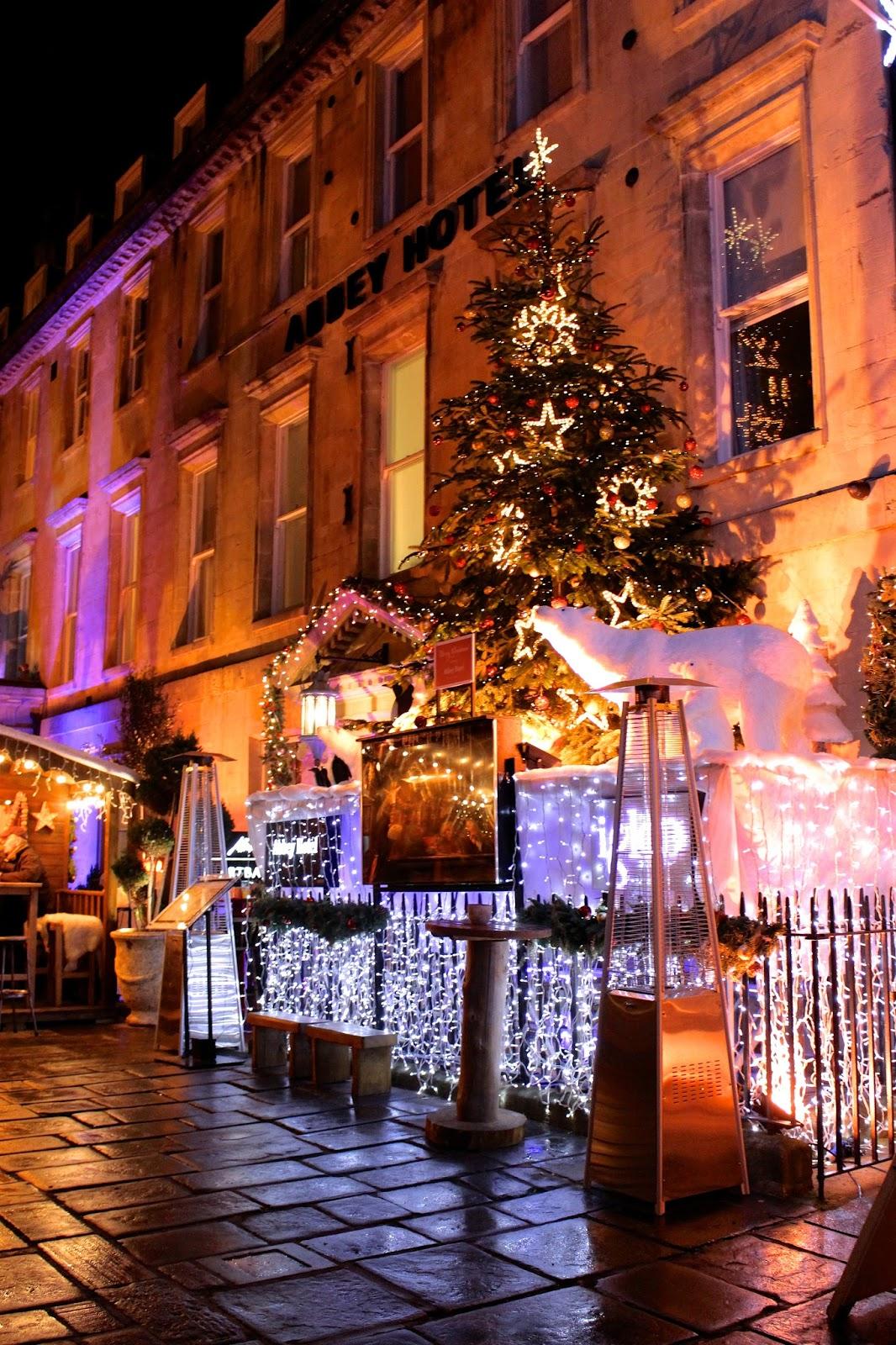 abbey hotel bath christmas