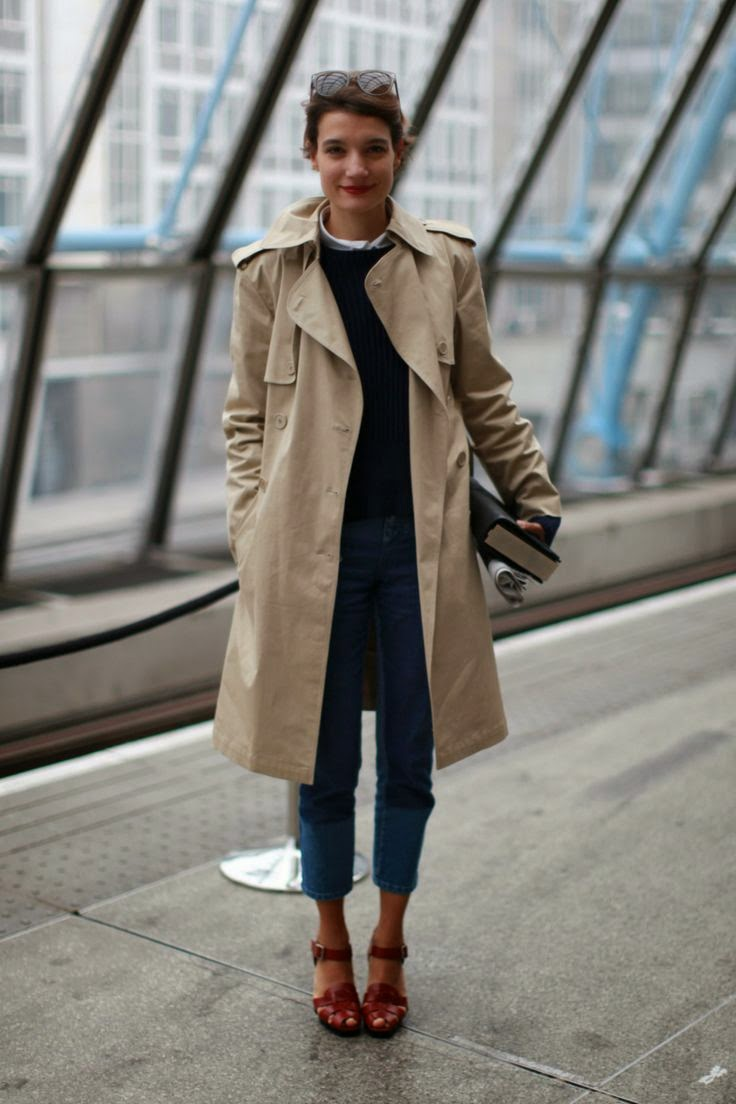 trench coat | Habitually Chic