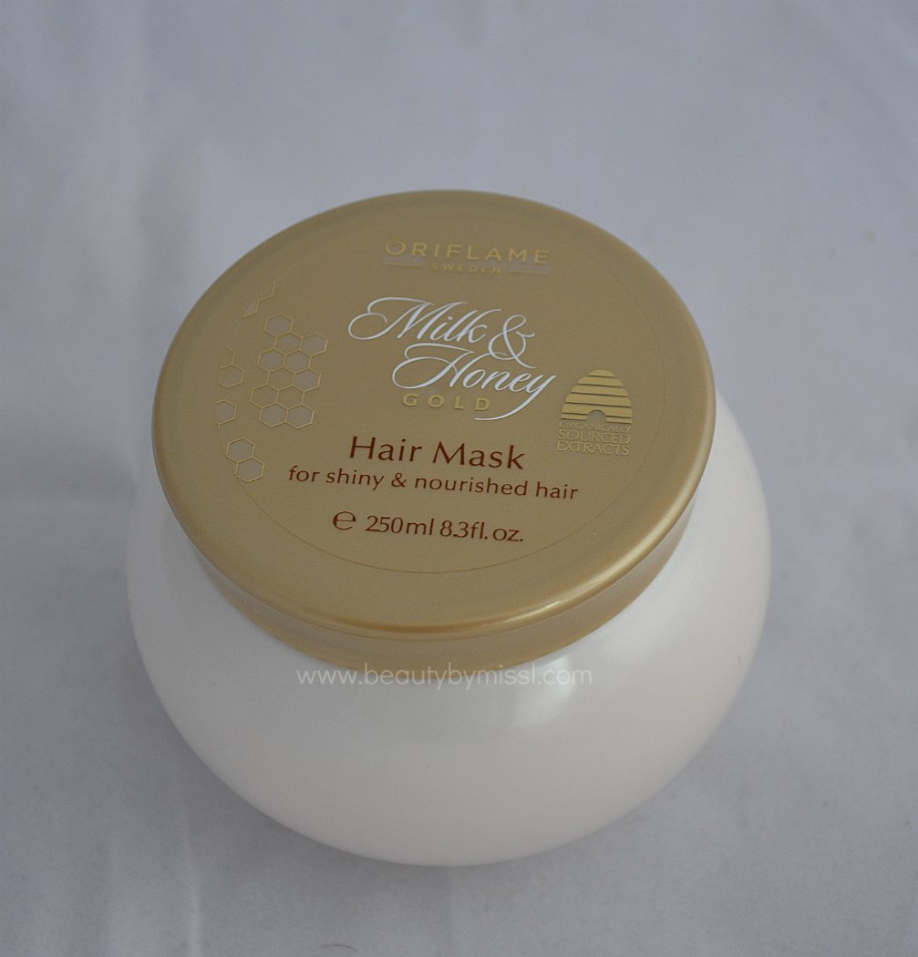 Oriflame Milk & Honey hair mask