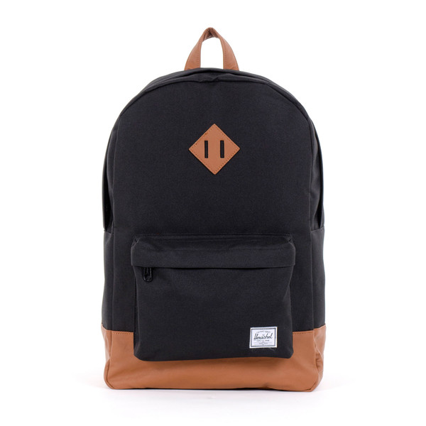 black herschel backpack