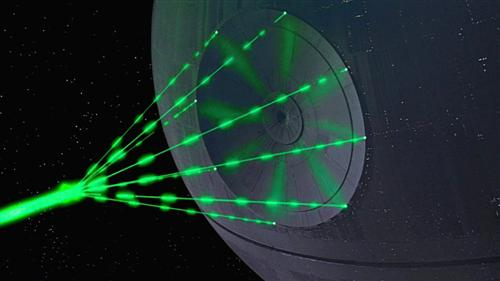 Death star pr alderaan a retrospective for Galaxy wand laser
