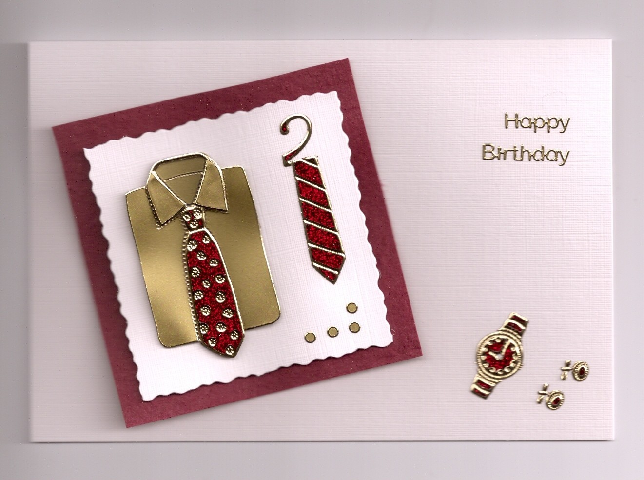 Handmade Birthday Cards For Men Lets Celebrate