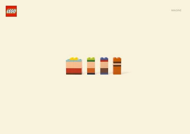 Nueva campaña Lego Jung Von Matt. South Park