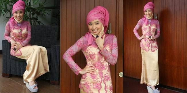 45 Gambar Model Kebaya Muslim Modern Dan Terbaru