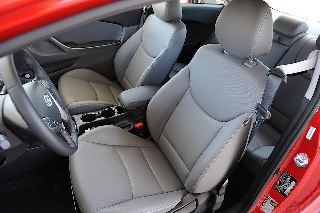 сидения водителя и пассажира Hyundai Elantra Coupe 2013